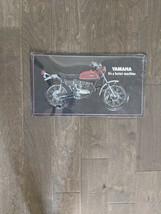 "20"" Yamaha MOTORCYCLE biker ride open road retro USA STEEL plate display ad Sign - $68.60"