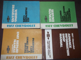 1977 Chevy Camaro Nova Monte Carlo Chevelle Service Repair Shop Manual Set - $197.99