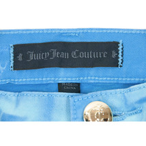 Juicy Couture Black Label Water Blue Tropic Stretch Skinny Crop Jeans 28 NWT image 2