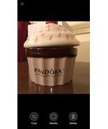 Pandora Ceramic Cupcake Jewelry Box Breast Cancer Limited Edition - $24.50