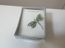 Liz Claiborne , Butterfly Pin , New In Original Box , Vintage - $12.00