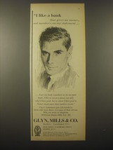 1965 Glyn, Mills and Co. Bank Ad - I like a bank that gives me names - $14.99