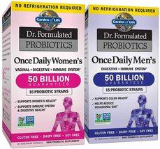 Garden of Life Dr. Formulated Once Daily Women Men Probiotics 50 Billion NonGMO  - $75.98