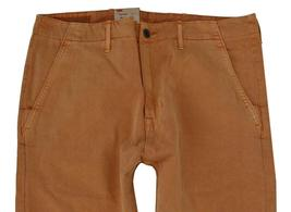 NEW NWT LEVI'S STRAUSS MEN'S ORIGINAL RELAXED FIT CHINO PANTS ORANGE 556880015 image 3