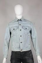 vintage Levis 506 trucker denim jacket M made in USA mint jean light blu... - $50.00