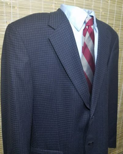 Joseph Abboud Houndstooth Mens 2 button Sport Jacket Silk/Wool 100% Rayon 41R