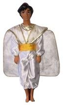 VTG 1992 Mattel Aladdin White Wedding Prince Outfit Doll - $39.99