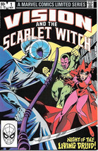 Vision and the Scarlet Witch Comic Book #1, Marvel Comics 1982 VERY FINE... - $3.99