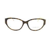 New Versace Eyeglasses VS 3183-5083 Havana Acetate 54 16 140 Authentic - $85.50
