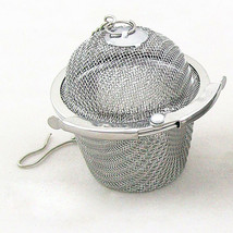1pc Practical Tea Ball Spice Strainer Mesh Infuser Filter Stainless Steel Herbal - $6.99
