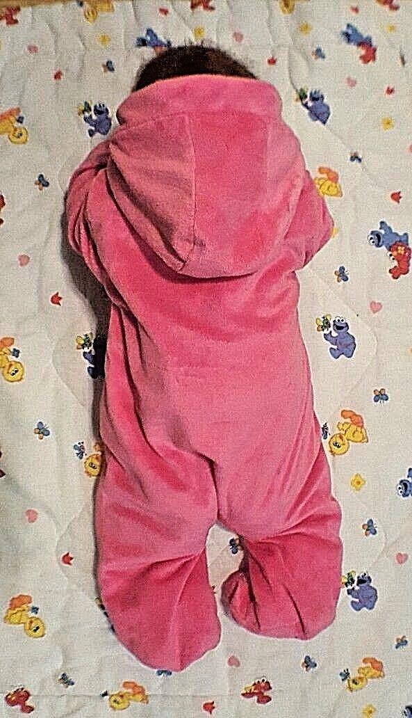 dcd86e0b1 DISNEY BABY Pink Minnie Mouse Bunting Soft Fleece Pram Suit Infant 3-6  Months