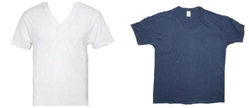 Men's V-Neck Tee Shirt John Blair T-Shirt 3-Pack Undershirt