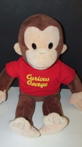 """Applause Curious George Large Classic Plush in red shirt 17-18"""" stuffed ... - $14.84"""
