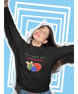 All I Want For Christmas Yarn Skeins Unisex Sweatshirt - $28.50+
