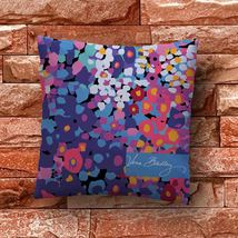 Vera Bradley Color Beautiful Throw Pillow Case Decorative Cushion Cover - $11.90