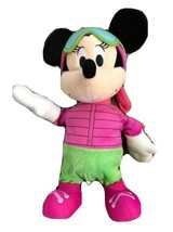 Disney Musical/Dancing Minnie Mouse Plush We Wish You A Merry Christmas ... - $12.86