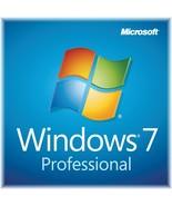 Windows 7 Pro 32/64 bit Genuine Activation Key + Download Link - $9.99