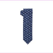 Tommy Hilfiger Men's Indigo Squares Slim Tie - $19.21