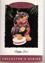 Hallmark Puppy Love 1995 Christmas Ornament - $34.55