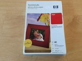 Hp Premium Plus Glossy Photo Paper 60 4x6 - $12.99