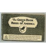 Green Book Birds of America Ashbrook vintage pocket guide Moller illust... - $19.00