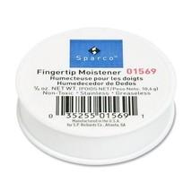 Sparco Fingertip Moistener Odorless, Non-slip, Greaseless 0.37 oz White - $32.99