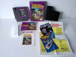 Vintage 1989 ULTIMA: EXODUS Nintendo NES RPG Video Game COMPLETE With In... - $59.95