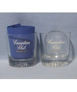 Canadian Club Whisky 2 Old Fashioned Rocks Low Ball Bar Glasses - $8.99