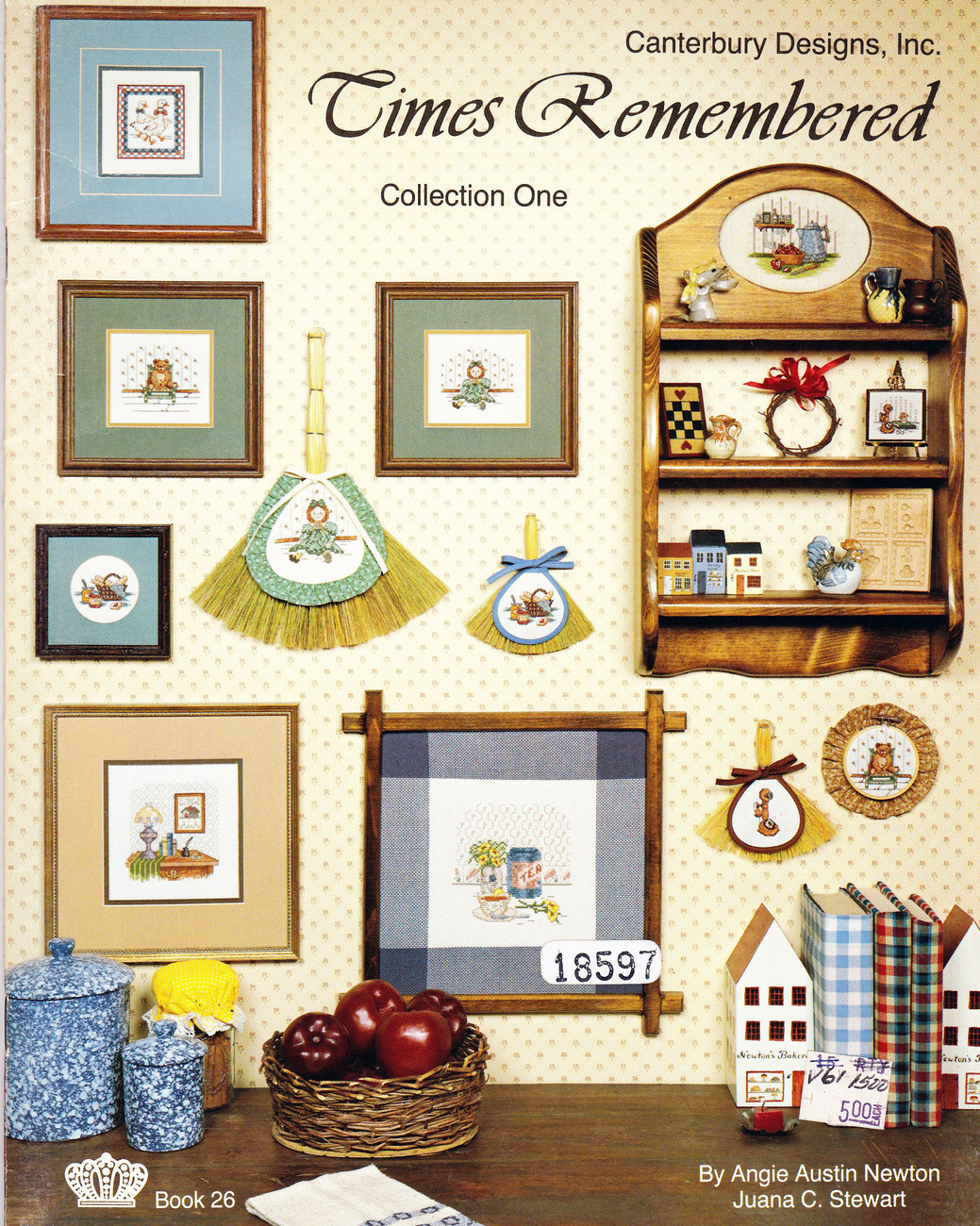 Primary image for CROSS STITCH TIMES REMEMBERED CANTERBURY DESIGNS NOSTALGIA