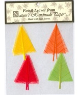 10 Fossil Leaves - Tiny Trees - Fall Colors - $2.75