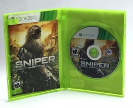 Sniper Ghost Warrior / Microsoft Xbox 360 / 2010 Shooter Video Game w Ma... - $12.95