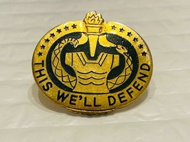 US Military Trainer Personnel Unit Insignia Pin - This We'll Defend - $10.00