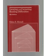 Locating & Correcting Reading Difficulties 4th Edition - Eldon E. Ekwall... - $7.83