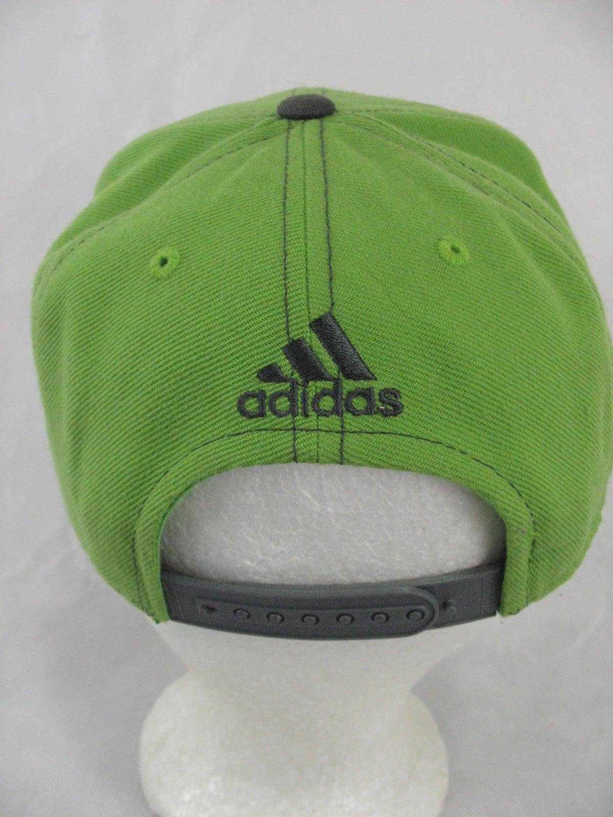d45d176dc59 Seattle Sounders FC Adidas Green Snapback Adjustable Flat Bill Hat Lid