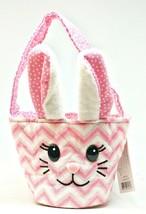Zig Zag Pink Bunny Tote by Douglas - $17.33