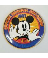 1997 Walt Disney World Official Disneyana Convention Disney Pinback Button - $5.30