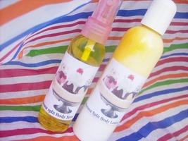 birthday cake body spray and body lotion set - $12.00