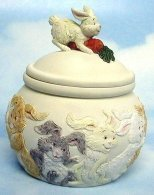 Primary image for BUNNY RABBIT TRINKET BOX