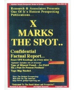 X Marks the Spot ~ Gold Prospecting - $24.95