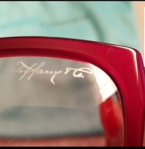 RARE Authentic Tiffany & Co Red Sunglasses - $250.00