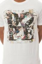 Dope Couture X Antonio Chiesa Mosaico Love Camiseta Blanca Pantalla Estampada