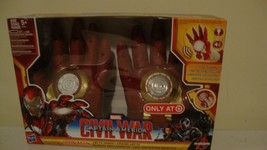 Marvel Captain America Iron Man Civil War motion activated Hands Toy - $24.00