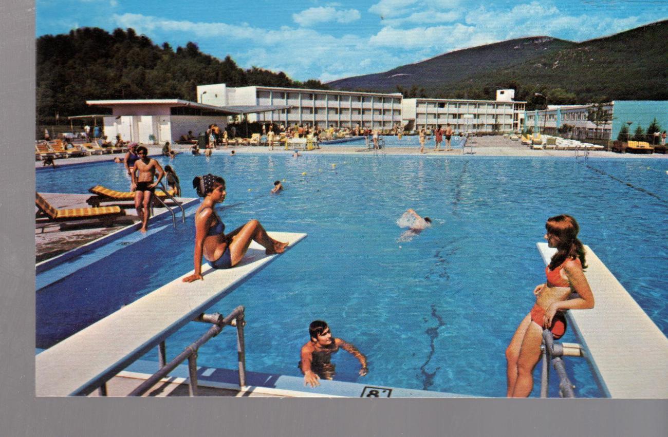 Homowack Hotel, Spring Glen, Sullivan County, New York  1960's