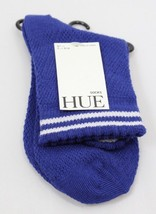 HUE women's Sporty Shorty Tennis Socks Blue Shock OS - $3.91