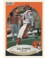 1990 Fleer #217 Lee Johnson - $0.50