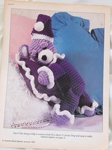 Crochet World's Special Autumn Drowsy Teddy Crochet Pattern - $6.80