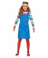 Chucky, Girls Halloween Fancy Dress Costume, Large Age 10-12 - £20.78 GBP