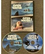 Open Water / Open Water 2: Adrift DVD, Double Feature Shark Ocean Thrill... - $9.99