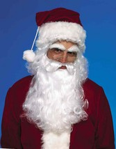Santa Claus Wig Moustache And Beard Christmas Holiday Adult Costume Accessory - $24.99