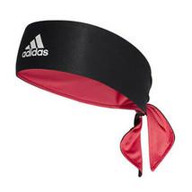 adidas Tennis Tieband Bandana Reversible Climalite Sports Headband Black DU8457 - $22.70